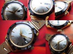画像2: 1960年代OBERON GMTワールドタイム 手巻き デッドストック