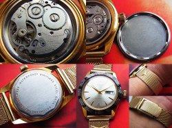 画像3: 1960年代OBERON GMTワールドタイム 手巻き デッドストック