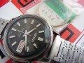 セイコー ベルマチック 黒文字盤 OH済み 国内モデル 27石 国産時計博物館