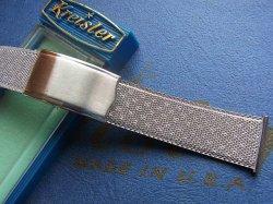 画像1: U.S.Aクライスラー20mmステンレスベルト1 未使用デッド最高級Kreisler
