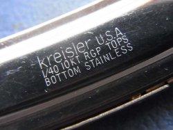 画像1: U.S.Aクライスラー 19mm金張りK10デッド未使用最高級Kreisler