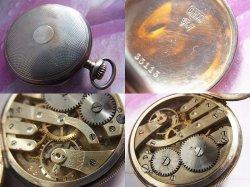 画像4: 銀側懐中時計 大正ローレル 精工舎 LAUREL 1910年代 OH済み 0.900 SKS