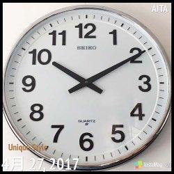 画像2:  直径50cm 大きな セイコー壁掛け時計