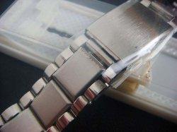 画像1: バンビ16 バネ式ステンレスベルト 18~22mm未使用デッドストック70年代