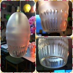画像1: 厚みのあるカットガラス照明
