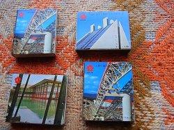 画像2: 大阪万博 EXPO70 空マッチ箱 4個セット