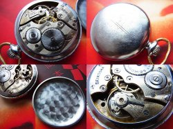 画像4: 19セイコー 懐中時計 OH済み 7石 手巻き 1950年代 国鉄 鉄道 昭和20年代