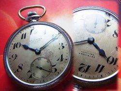 画像1: 19セイコー 懐中時計 OH済み 7石 手巻き 1950年代 国鉄 鉄道 昭和20年代