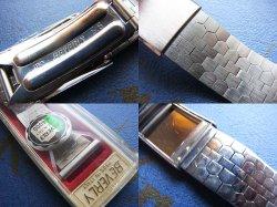画像3: BEVERLY1  バックルステンレスベルト 22mm未使用デッドストック60年代
