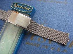 画像1: U.S.Aクライスラー 20mmステンレスベルト3 未使用デッド最高級Kreisler