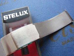 画像1: ステラックス(STELUX)3 ステンレスベルト20mm 未使用デッドストック