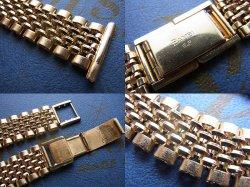 画像3: バンビ13 金色7連ベルト 22mm 未使用デッドストック1970年代