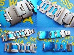 画像3: マルマン46 変わりステンレスベルト青2 20.3mm 未使用デッドストック70年代