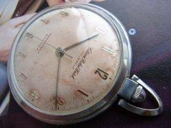 画像1: 未調整 シチズン poket watch 懐中時計 17石 手巻き