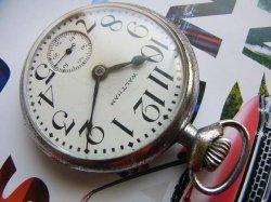 画像1: ウォルサム WALTHAM 鉄道懐中時計