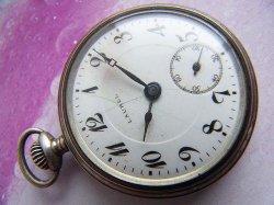 画像1: 銀側懐中時計 大正ローレル 精工舎 LAUREL 1910年代 OH済み 0.900 SKS