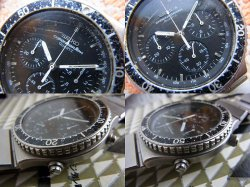 画像3: 80年代 黒文字盤 セイコー 7A28 クロノグラフ スピードマスター ジウジアーロ世代
