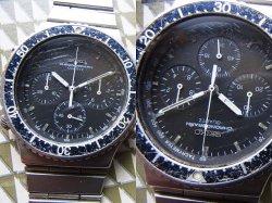 画像2: 80年代 黒文字盤 セイコー 7A28 クロノグラフ スピードマスター ジウジアーロ世代