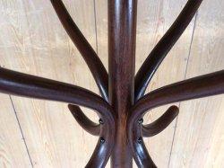 画像2: オールド 秋田木工 曲木のレトロなコートハンガー
