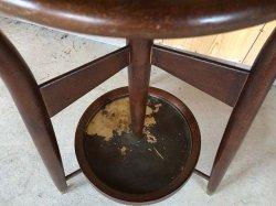 画像3: オールド 秋田木工 曲木のレトロなコートハンガー