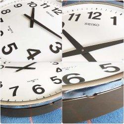 画像3:  直径50cm 大きな セイコー壁掛け時計