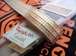 画像2: 金色 米SPEIDEL 1 フレキシブルバンド 17.3mm デッドストック