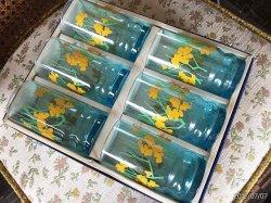 画像1: アデリアガラス 里の春  バラ売り 未使用 6ピース