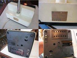画像3: 日立 電気スタンド 転倒時安全スイッチ付き 時計動きません