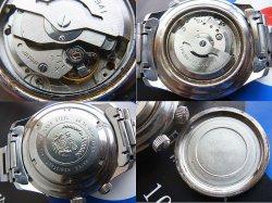画像4: オリエント キングダイバー オリジナルブルーグラ文字盤 回転インナーベゼル ビッグサイズケース 輸出モデル