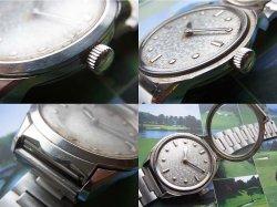 画像5: セイコー 盲人用腕時計 17石 紳士用手巻き 純正ブレス付き 6618A