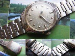 画像4: セイコー 盲人用腕時計 17石 紳士用手巻き 純正ブレス付き 6618A