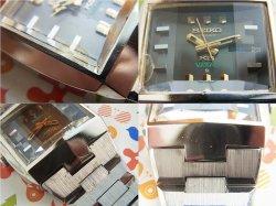画像5: 1973年製造 キングセイコー バナック角型 3面カットガラス 自動巻き 5626-5050 ハイビート 純正ベルト
