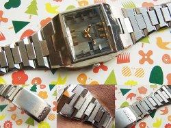 画像4: 1973年製造 キングセイコー バナック角型 3面カットガラス 自動巻き 5626-5050 ハイビート 純正ベルト