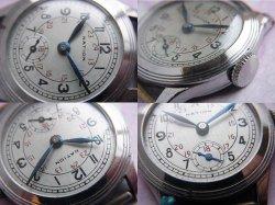 画像3: デッドストック 精工舎 セイコー ネーション スモセコ 24時間表示 7石 OH済み 1930年代 戦前