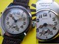 未使用★デッドストック★戦前 モラル 2重ケース 旧日本帝國軍用時計 7石 OH済み