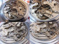 画像4: セイコー 精工舎 日本軍 夜行秒時計一型乙 軍用懐中時計 クロノグラフOH済