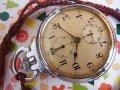セイコー 精工舎 日本軍 夜行秒時計一型乙 軍用懐中時計 クロノグラフOH済