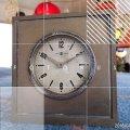 東京時計 TOKYO CLOCK スタンド ゼンマイ手巻き 置時計 昭和レトロ