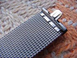 画像5: U.S.Aクライスラー 20mmステンレスベルト3 未使用デッド最高級Kreisler