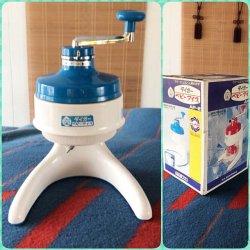 画像1: 未使用 タイガーベビーアイス かき氷機 昭和レトロ AP-2