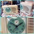 デッドストック(未使用)新日本時計 スワン コマ天府式 昭和30年代 昭和レトロ SHIN NIPPON TOKEI CO. LTD, TOKYO