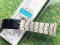 ベアー4 特殊5連ステンレス&黒ラインベルト 22mm 未使用デッドストック1970年代