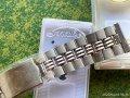 スネーク10 Snake 変則3連ステンレスベルト 19mm 1970年代 新品デッドストック未使用