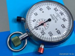 画像1: Compass キャンパス 3ボタンストップウォッチ ストップウォッチ