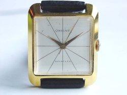 画像1: O.H済み 初期 オリエント 角形 ニバフレックス 手巻き