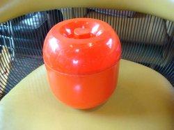 画像1: プラスチック アイスペール ハートマーク 1970年代モダン昭和レトロ