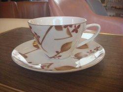 画像1: Kanetaコーヒーカップ&ソーサー デッドストック